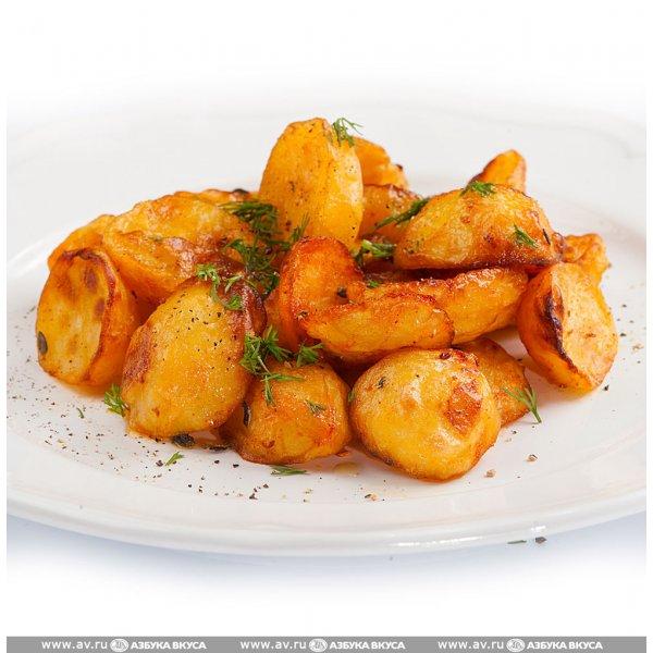 Картошка по деревенски в духовке рецепт пошагово