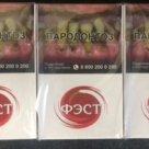 Сигареты Фэст акциз РФ в Череповце