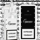 Сигареты Cigaronne Ultra Slims Black МРЦ 140-00