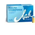 """Масло Крест """"ЛАВ-Продукт"""" сладко-слив. несол, 72,5%, 180гр, ГОСТ 32261-2013 в России"""
