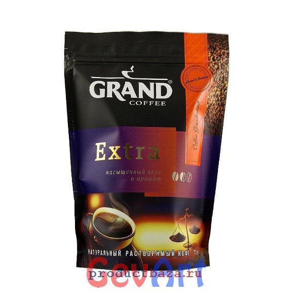 """Кофе """"Grand"""" Extra натуральный растворимый, 95г"""