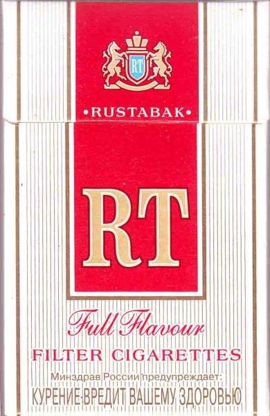 "Сигарет ""RT"" красный мрц 47"