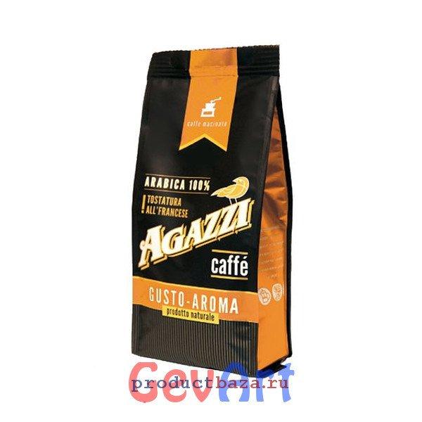 "Кофе ""AGAZZI GUSTO AROMA"" молотый, 200г"