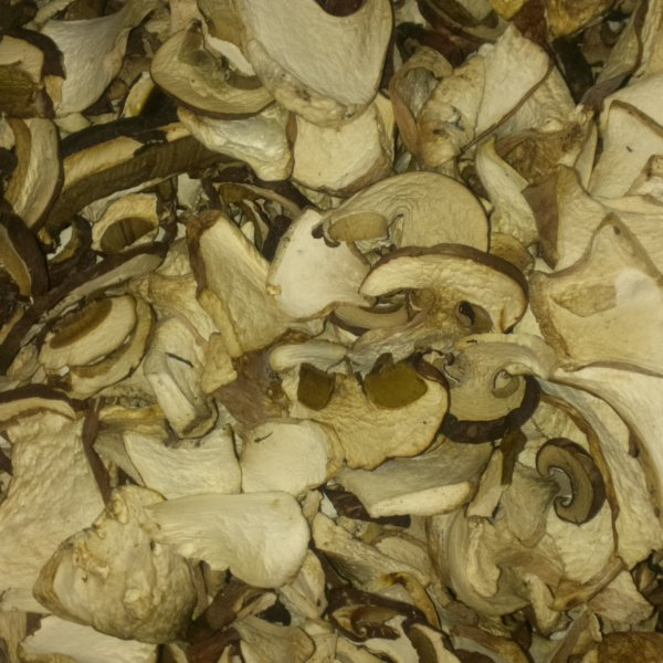 грибы белые боровые сушеные
