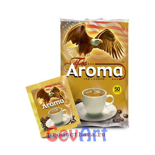 Напиток кофейный растворимый Fes Арома 3в1, 50 пак*18 г