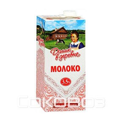 Молоко Домик в деревне 3,5%, 950г (12шт.)