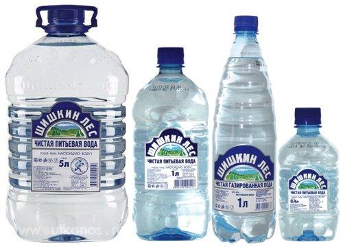 Минеральная вода Шишкин лес б/г пэт (1*12)