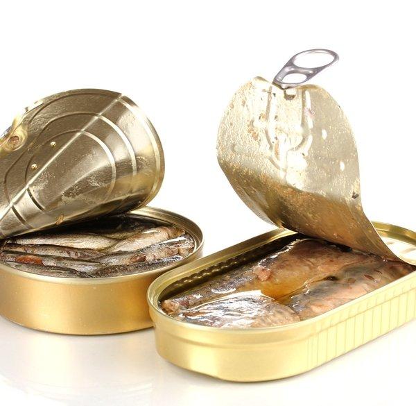 Рыбные консервы. Осетр/Белуга