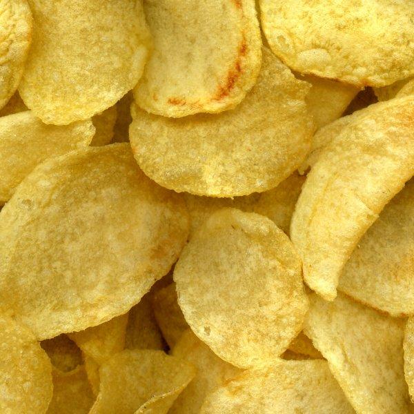 Мясные чипсы в лотках
