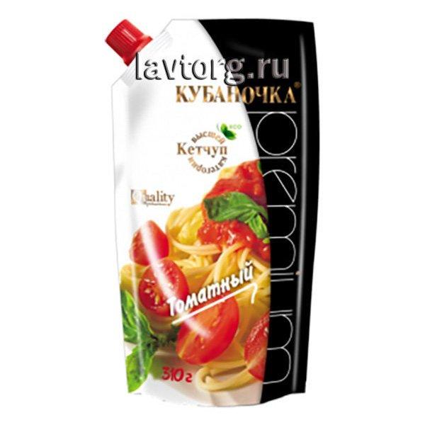 """Кетчуп Томатный """"Кубаночка"""", 310 гр."""