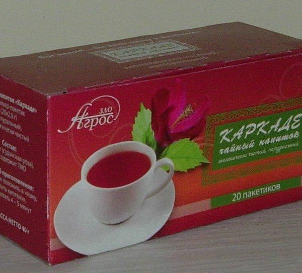 Чайный напиток цветочный Каркаде