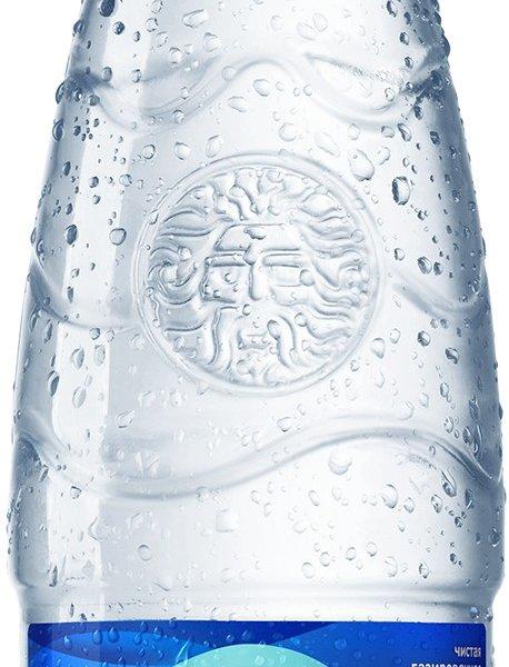 БонАква Газ 0,25 литра стекло 12 шт в упаковке