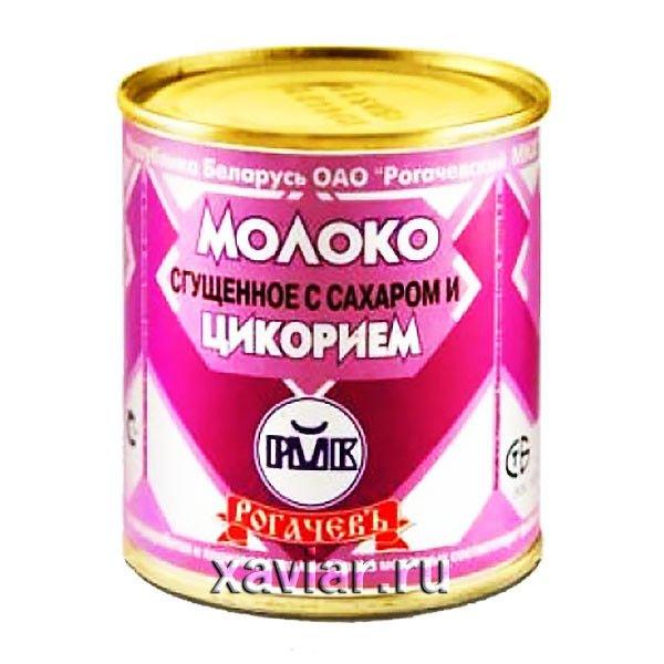 """Молоко сгущенное с сахаром и цикорием """"Рогачев"""", 380 гр."""