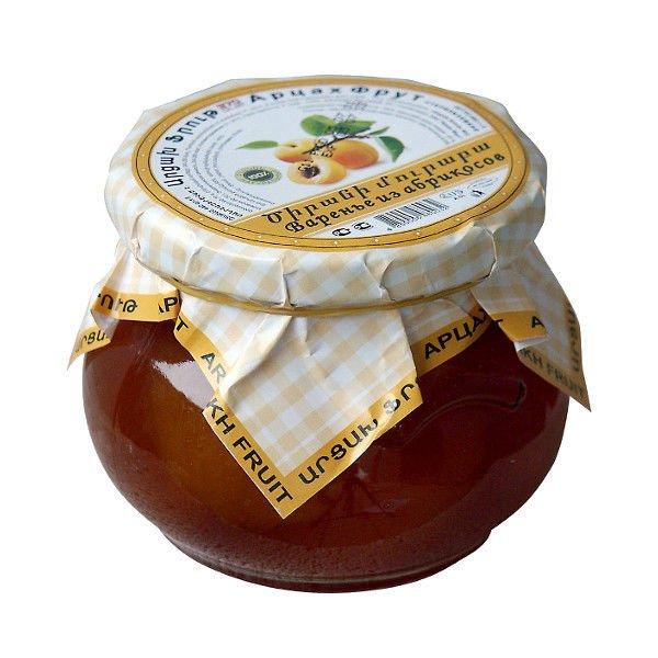 "Варенье из абрикосов ""Арцах Фрут"", 370 гр."