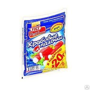 Крабовые палочки замороенные VICI . 200 г