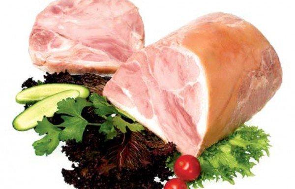 """Мясной продукт из свинины варёный """"Ветчина Премьера"""""""
