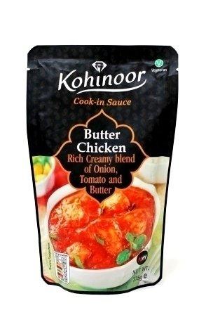 BUTTER CHICKEN (Насыщенный сливочный соус из лука, помидоров и сливочного масла)