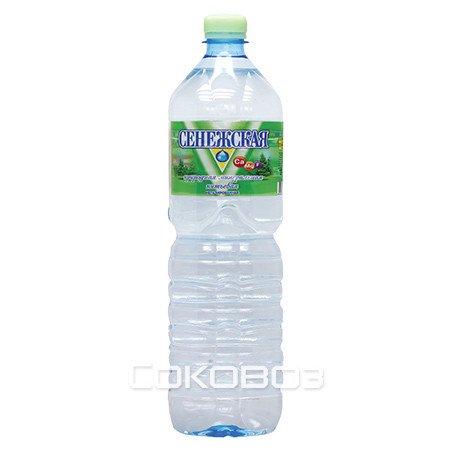 Сенежская без газа 1,5 литр 6 шт. в упаковке