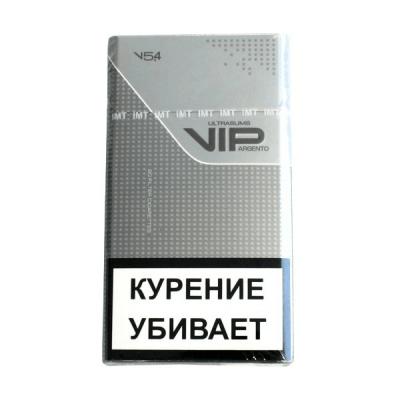Сигареты Vip Argento Ultraslims 5.4/100 МРЦ-90