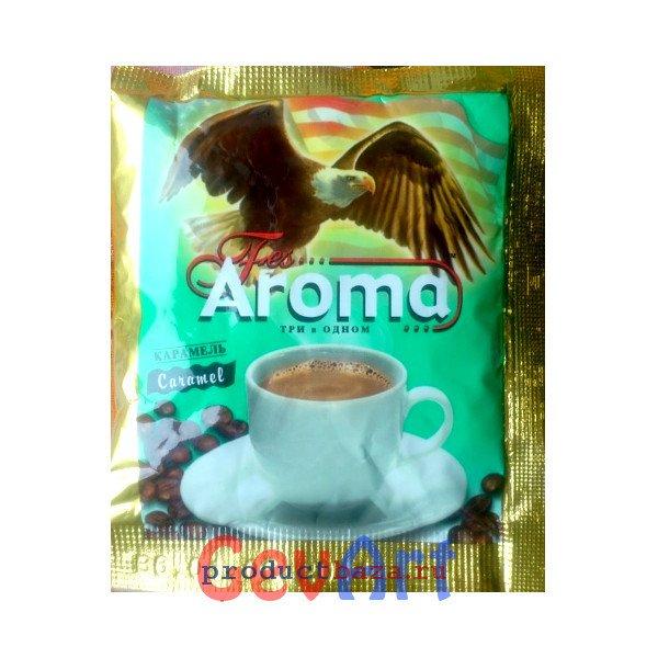 Напиток кофейный растворимый с ароматом карамели Fes Арома 3в1, 50 пак*18 г