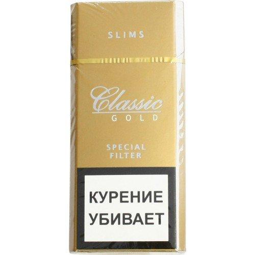 Сигареты Classic Gold Slims МРЦ 97-00