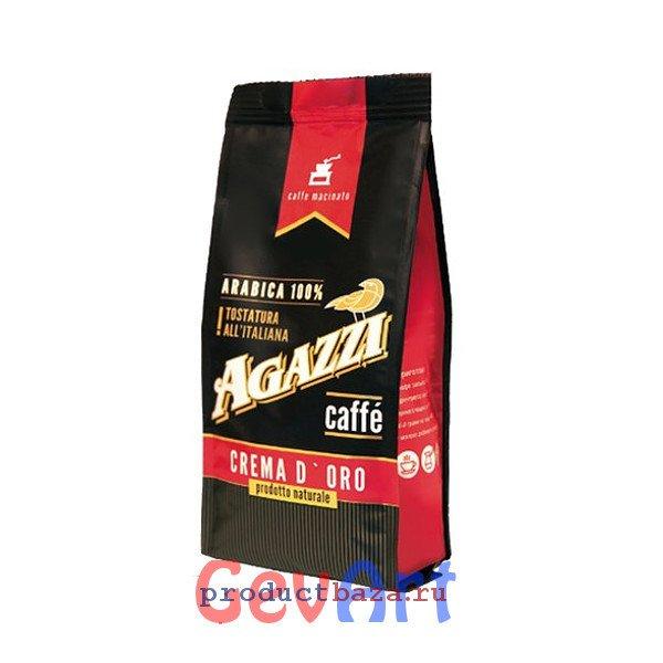 "Кофе AGAZZI ""CREMA D'ORO"" молотый, 200г"