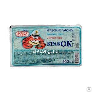 """Крабовые палочки охлажденное """"КРАБОК"""" VICI. 200 г"""