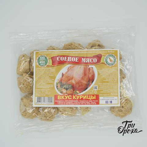 Соевое мясо вкус курицы 100 гр