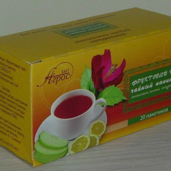 """Чайный напиток плодово-цветочный """"Фруктовый чай"""""""