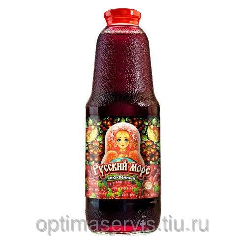 """Клюквенный морс """"Русский морс"""" 1 л."""
