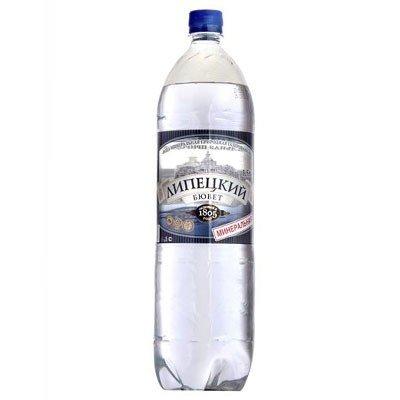 Минеральная вода Липецкий Бювет Газ + Б/Г пэт (1*6)