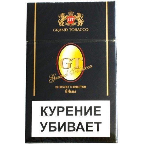 Сигареты GT Black 84mm 7.9/84 МРЦ-95