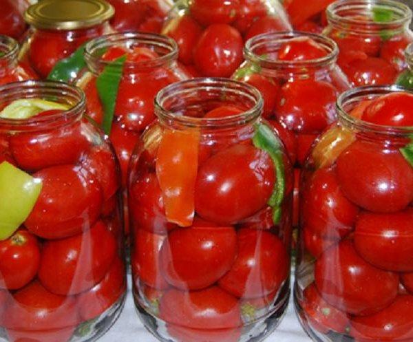 томаты консервированные рецепт фото