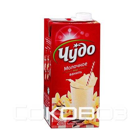 Коктейль Чудо молочное Ваниль 2%, 960г (12шт)
