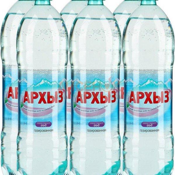 Минеральная вода Архыз Газ пэт (1*6)