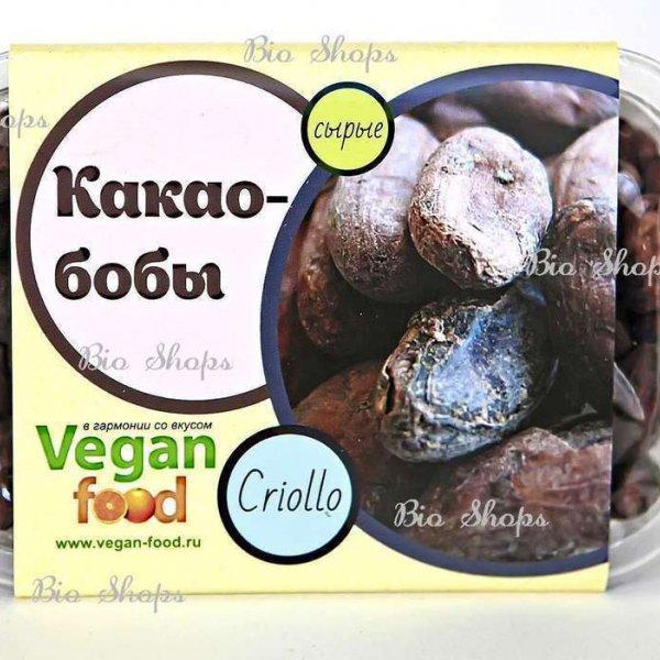 VEGAN FOOD Какао-бобы сырые отборные