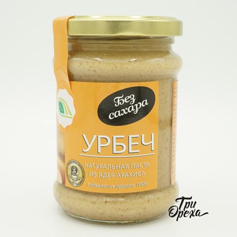 Урбеч натуральная паста из семян арахиса, 280 гр