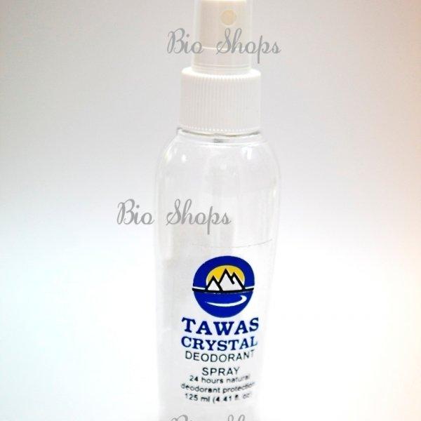 TAWAS CRYSTAL Спрей 125 мл, 30г сухого кристалла свежести