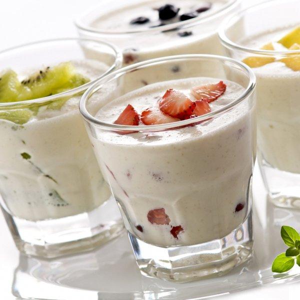Йогурт питьевой с наполн клубника-земляника м.д.ж.2,5% 450г пюр-пак Агрокомплекс