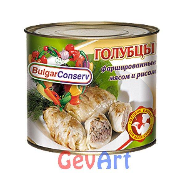 Голубцы с мясом и рисом БулгарКонсерв. 540 г