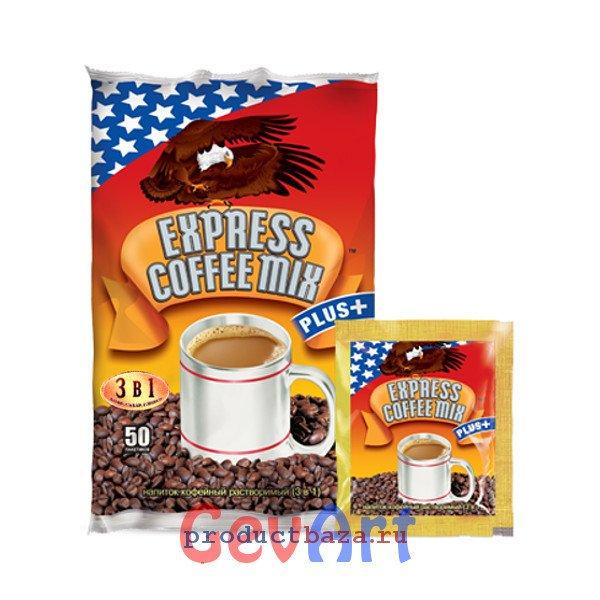 Кофе Экспресс 3в1 Плюс, 12г*50п