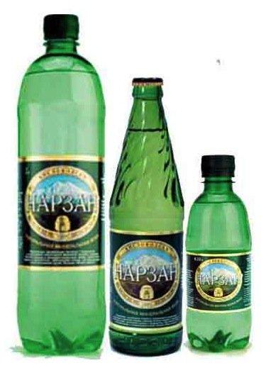 Минеральная вода Нарзан Газ пэт (1*6)