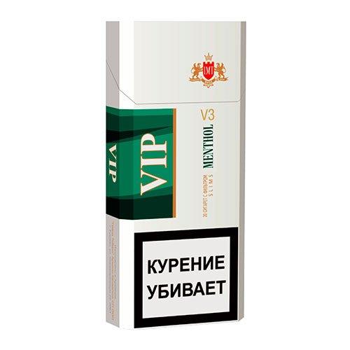Сигареты Vip Mentol Slims 6.2/100 МРЦ-97