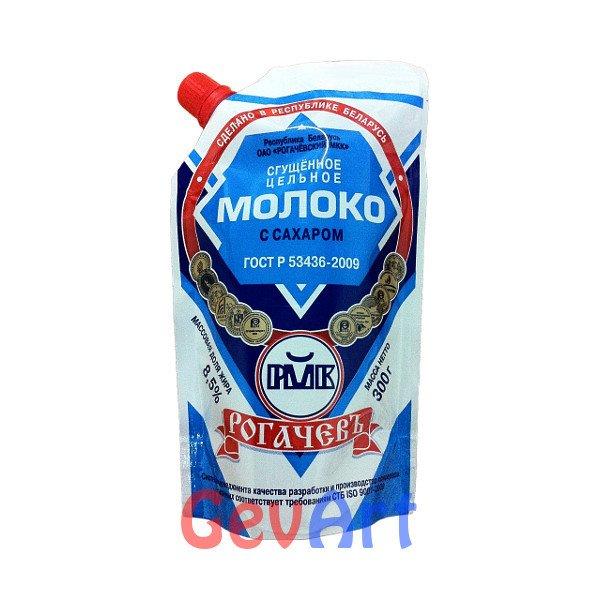 Молоко сгущенное РОГАЧЕВ, пэт 300 г.