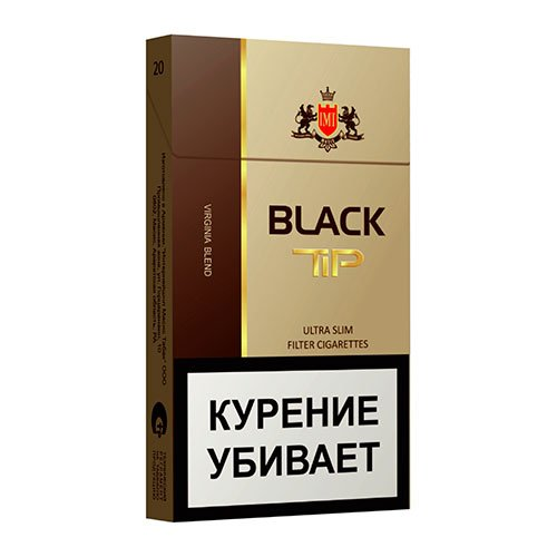 Сигареты Black Tip Ultraslims 5.4/100 МРЦ-87