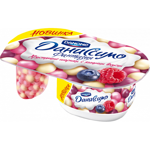 Фантазия хрустящие шарики с ягодным вкусом