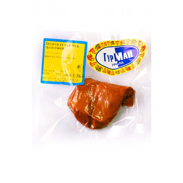 Мясо курицы сырокопченое