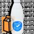 """Молоко пастеризованное """"Орловское полесье"""" 2,5% 0,93л бутылка (г. Орёл, Россия) в России"""