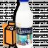 """Молоко ультрапастеризованное """"Сафiйка"""" 2,5% 0,95л бутылка в России"""