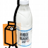 """Молоко пастеризованное Козельское """"Живое"""" 2,5% 0,93л бутылка в России"""
